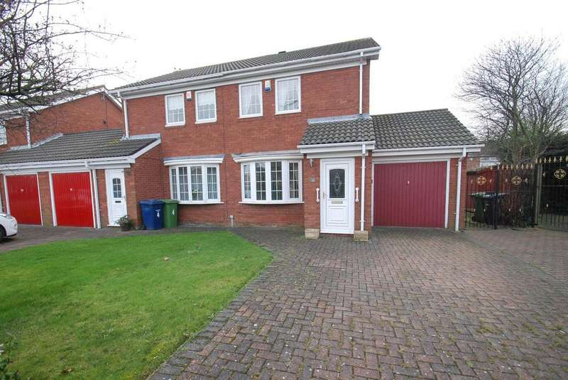 2 Bedrooms Semi Detached House for sale in Osprey Way, South Shields