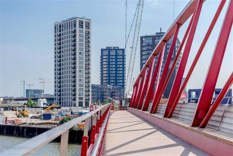 1 Bedroom Property for sale in Montague House, Canning Town, London, E14