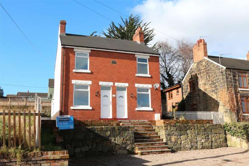 2 Bedrooms Semi Detached House for sale in Woodview, Brynisa Road, Brynteg, Wrexham, LL11