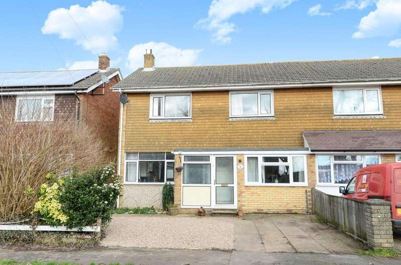 3 Bedrooms Semi Detached House for sale in Masefield Crescent, Cowplain, Waterlooville, PO8