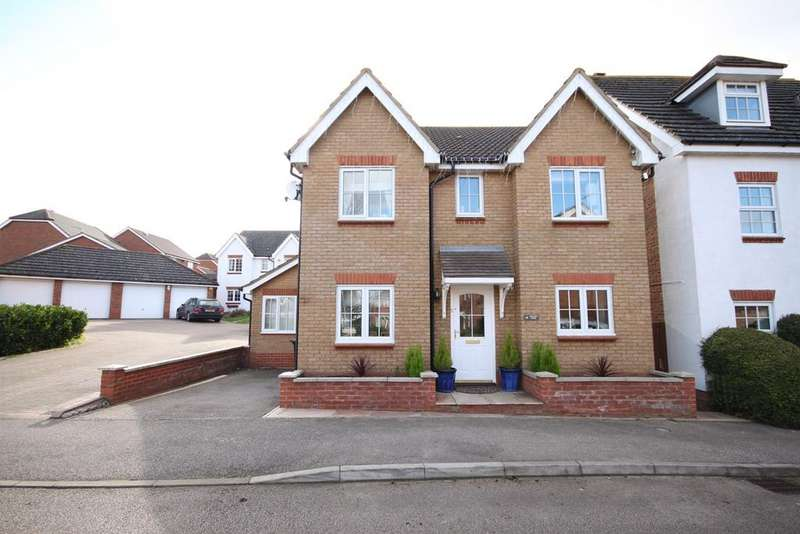 5 Bedrooms Detached House for sale in Gregory Close, Meppershall, Shefford, SG17