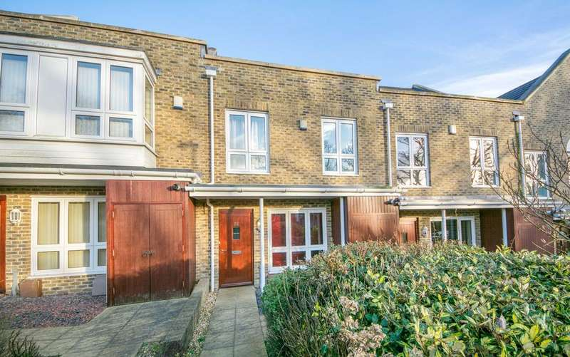 3 Bedrooms Mews House for sale in Sunnyfield Rise, Bursledon, Southampton SO31