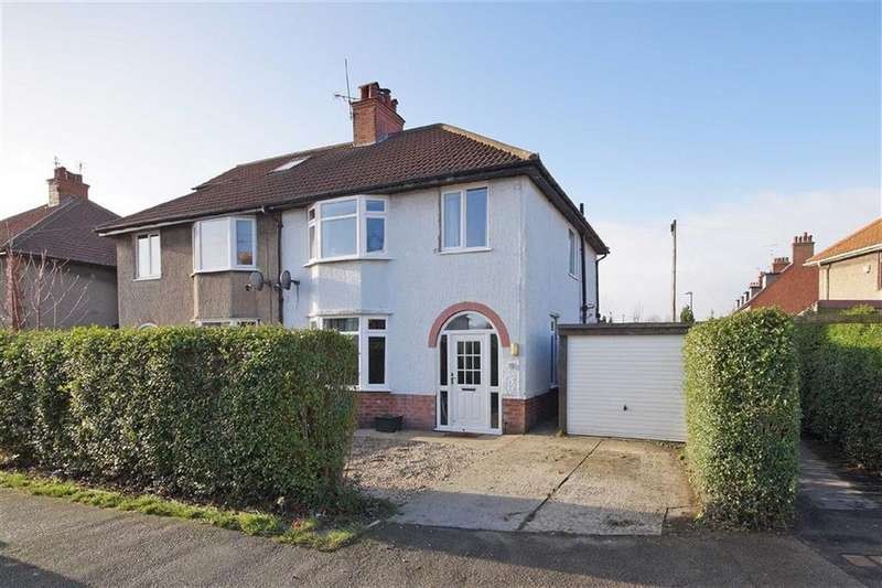 3 Bedrooms Semi Detached House for sale in Birstwith Road, Harrogate, North Yorkshire