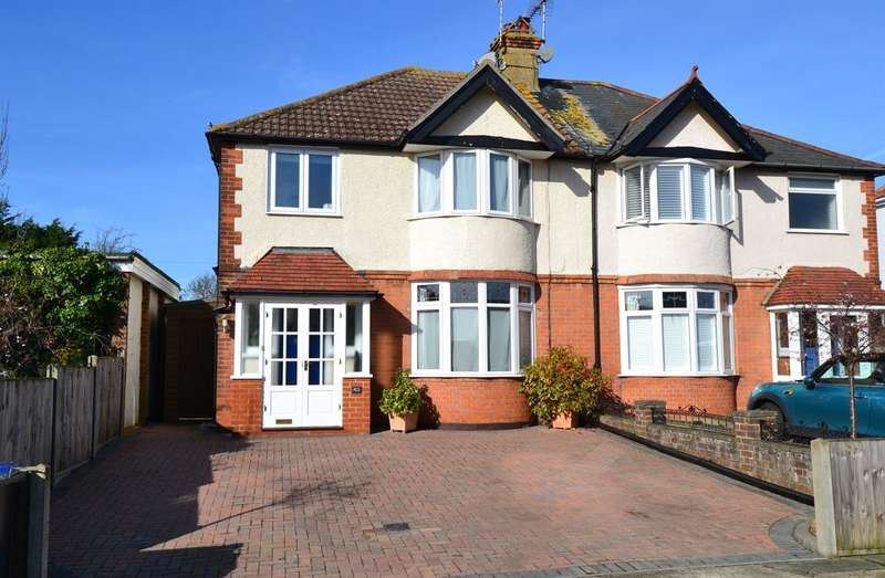 3 Bedrooms Semi Detached House for sale in St. Annes Road, Tankerton, Whitstable