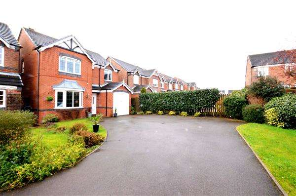 4 Bedrooms Detached House for sale in Cheswardine Road, Bradwell, Newcastle-under-Lyme
