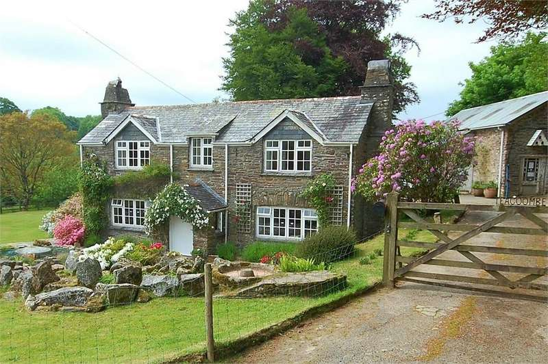 4 Bedrooms Detached House for sale in Teacoombe, Nr Lerryn, Cornwall
