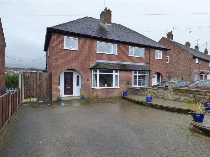 3 Bedrooms Semi Detached House for sale in 12, Robina Drive, Cheadle