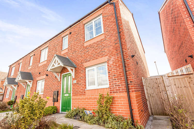3 Bedrooms Semi Detached House for sale in Steley Way, PRESCOT, L34