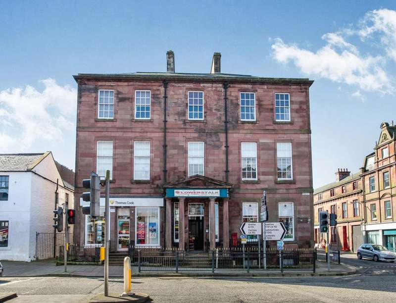 2 Bedrooms Flat for sale in High Street, Annan, DG12
