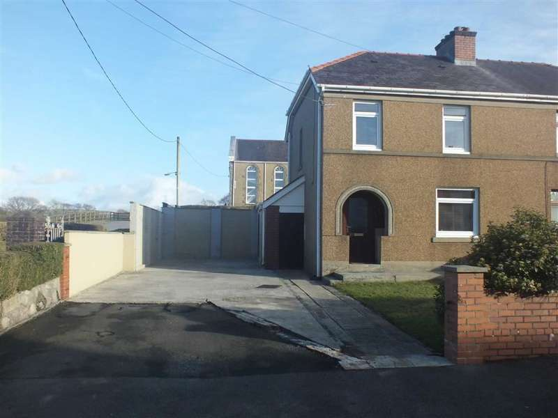 2 Bedrooms Semi Detached House for sale in Penygarn Road, Tycroes