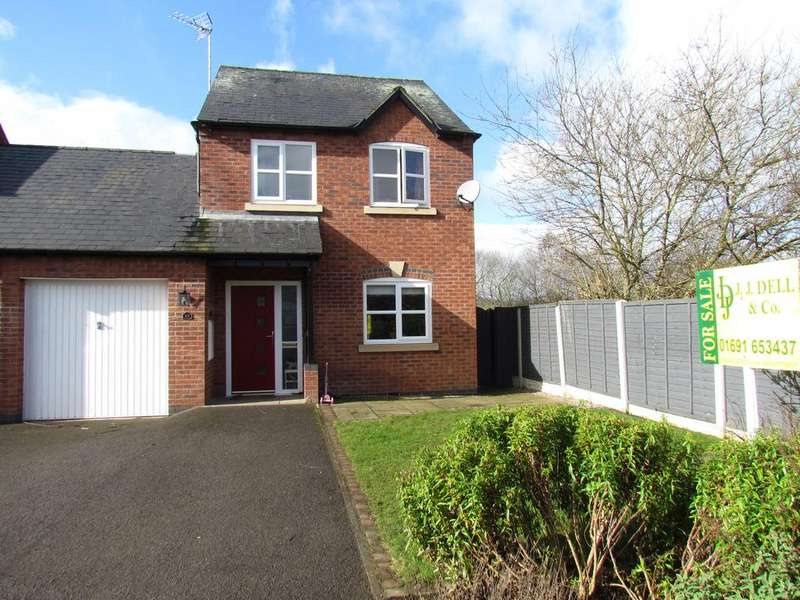 3 Bedrooms Link Detached House for sale in BRAMBLEWOOD CLOSE, CHIRK BANK LL14