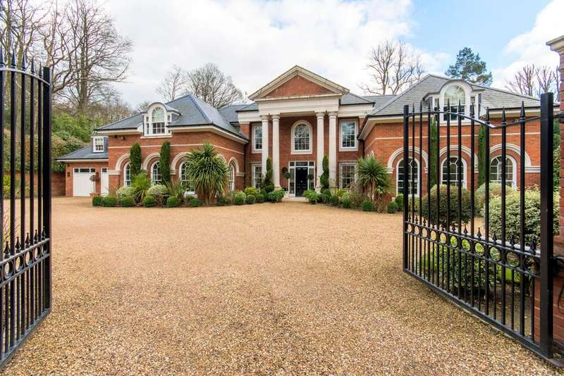 7 Bedrooms Detached House for sale in Woodlands Road West, Virginia Water