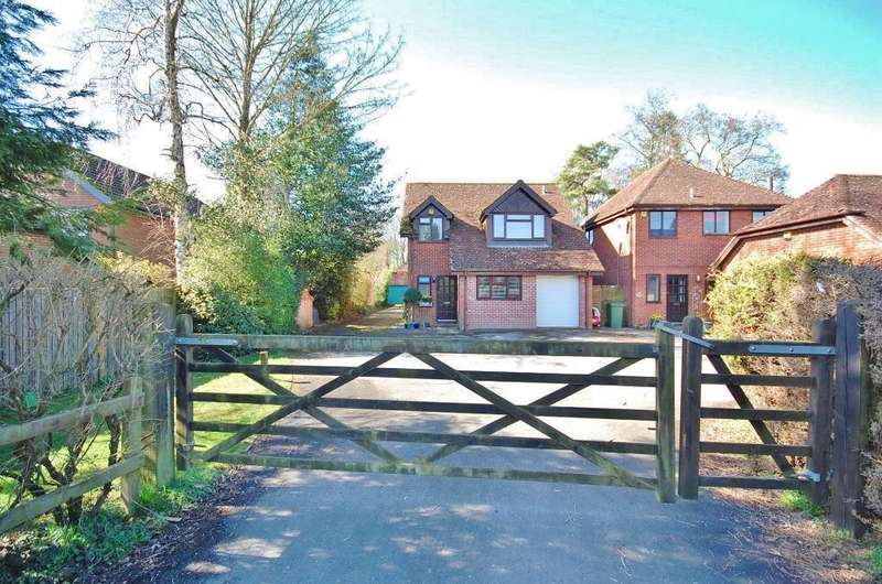 4 Bedrooms Detached House for sale in Kings Worthy