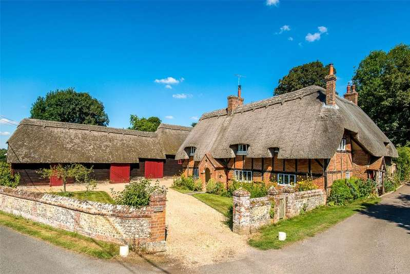 4 Bedrooms Detached House for sale in St Mary Bourne, Hampshire, SP11