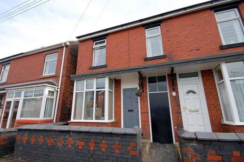 2 Bedrooms Semi Detached House for sale in High Street, Talke Pits