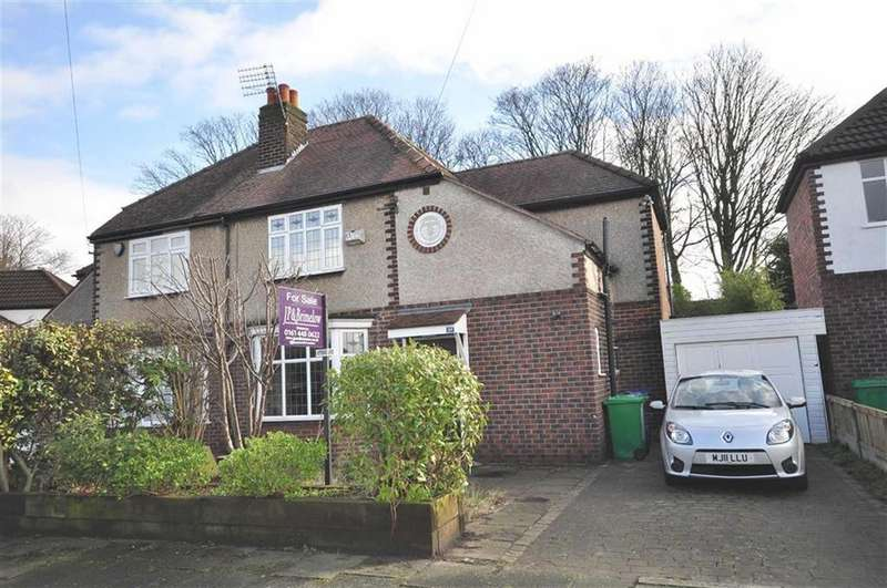 3 Bedrooms Semi Detached House for sale in Dalston Drive, Didsbury, M20