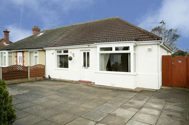 2 Bedrooms Semi Detached Bungalow for sale in Mountfield Avenue, Norwich