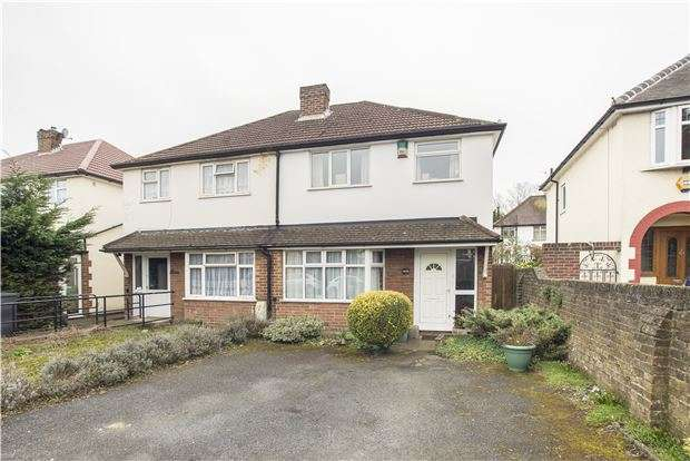 3 Bedrooms Semi Detached House for sale in Whytecliffe Road North, CR8 2AS