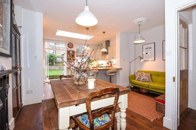 2 Bedrooms Terraced House for sale in Jennings Road, East Dulwich, SE22