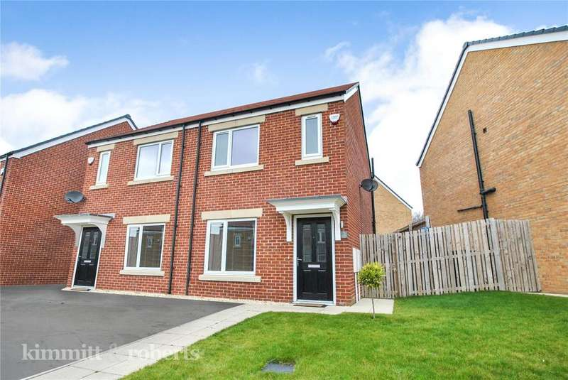 2 Bedrooms Semi Detached House for sale in Bellflower Close, Houghton le Spring, Tyne and Wear, DH4