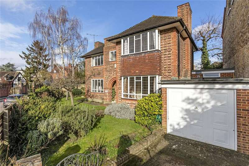 4 Bedrooms Detached House for sale in St. Georges Road, Twickenham, Middlesex, TW1