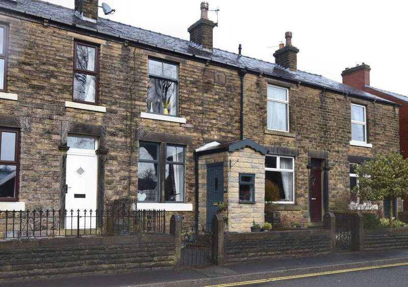 3 Bedrooms Terraced House for sale in Lower Lane, Chinley, High Peak