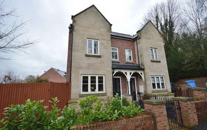 3 Bedrooms Semi Detached House for sale in Redbrow Hollow, Compstall