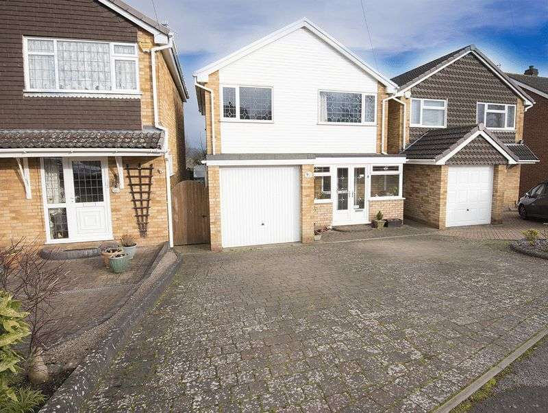 3 Bedrooms Detached House for sale in Fernleigh Gardens, Wordsley