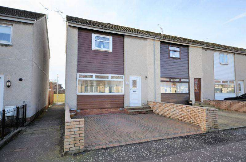 2 Bedrooms End Of Terrace House for sale in 12 Langcroft Avenue, Prestwick KA9 2LY
