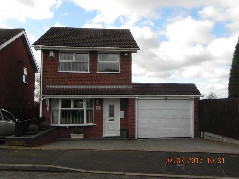 3 Bedrooms Detached House for sale in Lintly, Wilnecote, B77 4LN