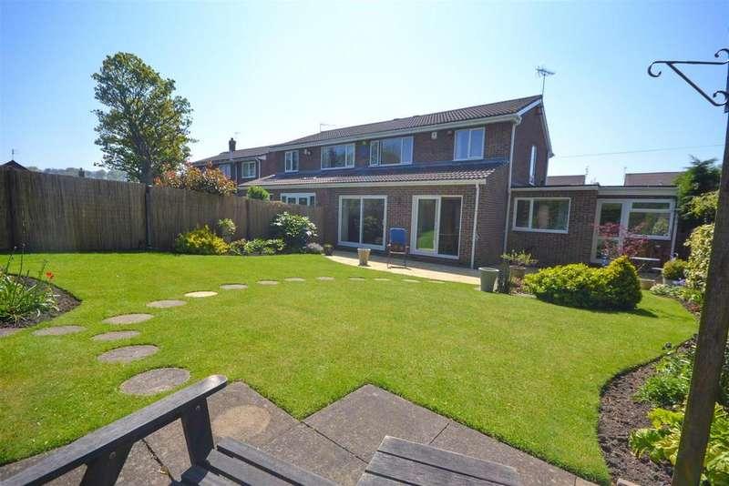 3 Bedrooms Semi Detached House for sale in Barningham Close, Elstob Farm Estate, Sunderland