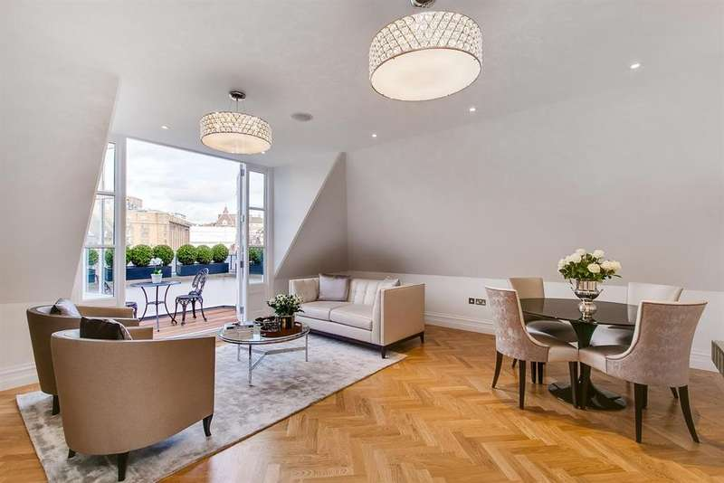 2 Bedrooms Apartment Flat for sale in Pont Street, SW1