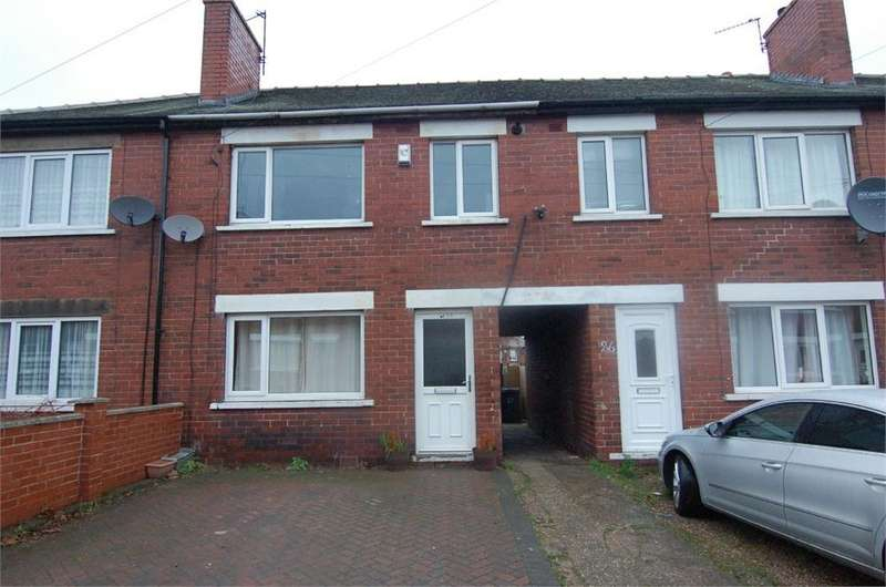 3 Bedrooms Terraced House for sale in Coronation Street, Darfield, BARNSLEY, South Yorkshire