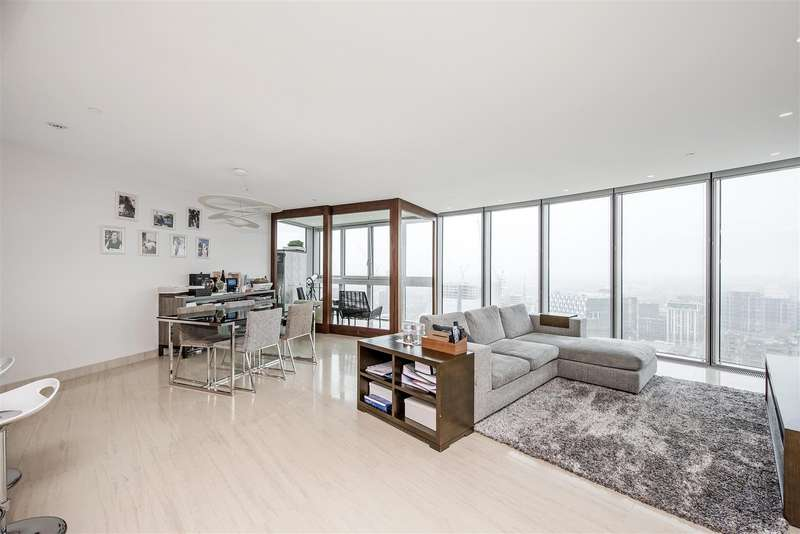 2 Bedrooms Flat for sale in The Tower, 1 St George Wharf, Nine Elms, London, SW8