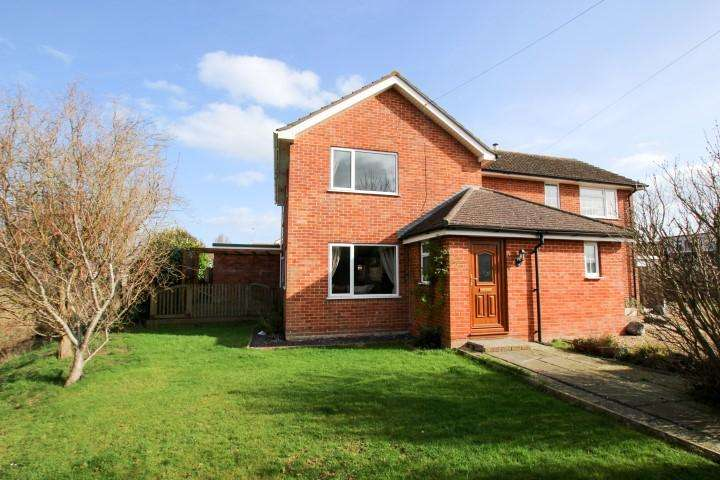 4 Bedrooms Semi Detached House for sale in Estuary Park, Combwhich TA5