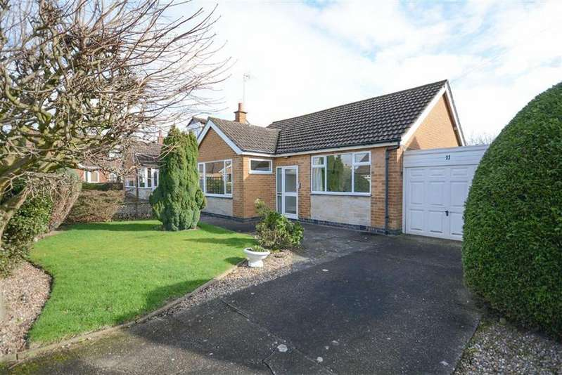 2 Bedrooms Detached Bungalow for sale in Muir Avenue, Tollerton