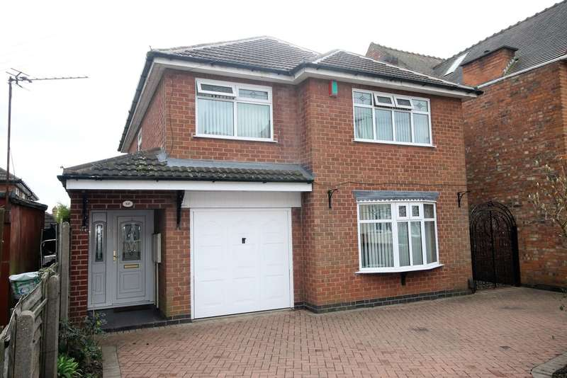 4 Bedrooms Detached House for sale in Priesthill Road, Hinckley