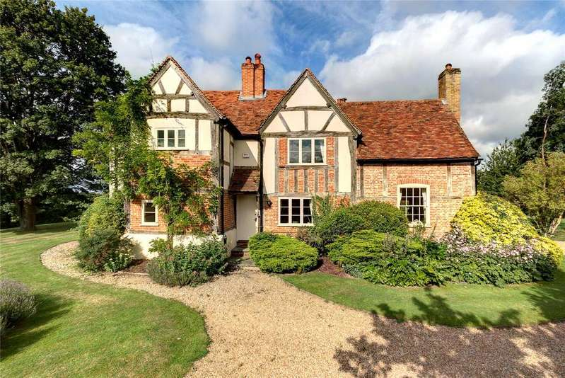 4 Bedrooms Detached House for sale in Smewins Road, White Waltham, Maidenhead, Berkshire