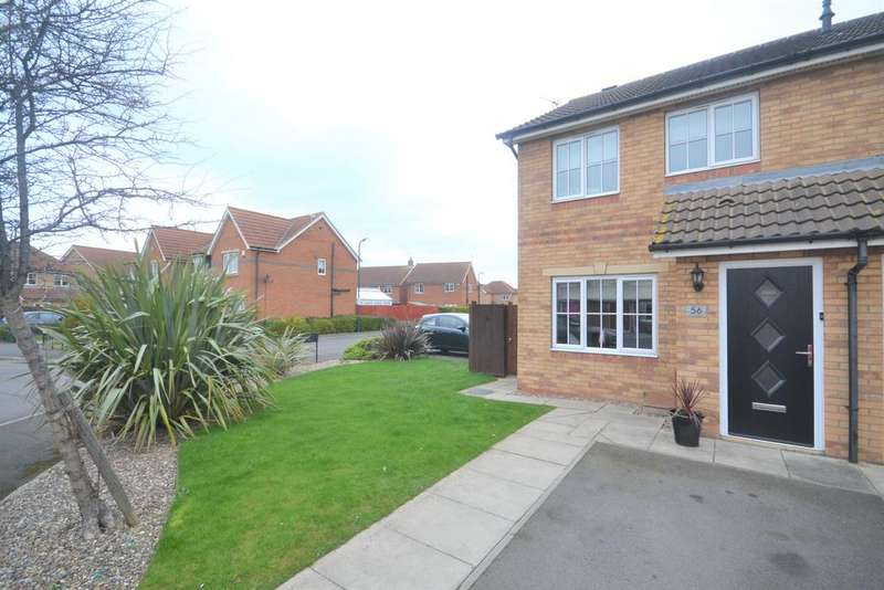 2 Bedrooms Semi Detached House for sale in Kirkwood Drive, Redcar TS10