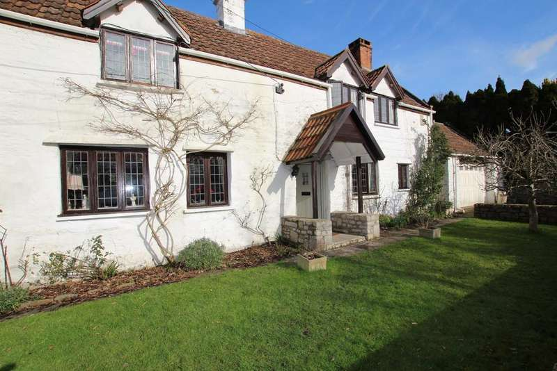 4 Bedrooms Cottage House for sale in Badgworth, Axbridge