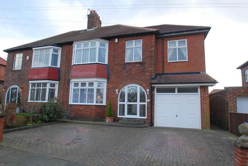 3 Bedrooms Semi Detached House for sale in Meadow Laws, South Shields
