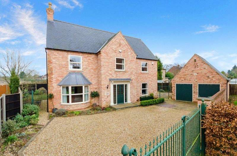 4 Bedrooms Detached House for sale in Burton Road, Lincoln, LN1
