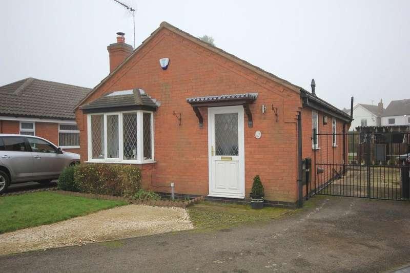 2 Bedrooms Detached Bungalow for sale in 18, Brookbank Road, Clowne