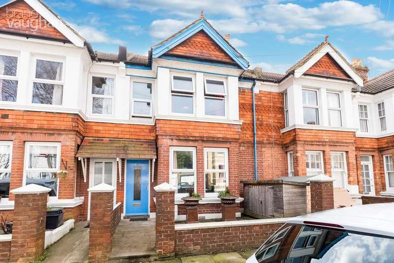 3 Bedrooms Terraced House for sale in Frith Road, Hove, BN3
