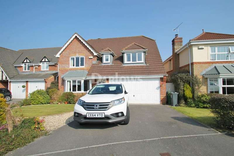 4 Bedrooms Detached House for sale in William Belcher Drive, St Mellons, Cardiff