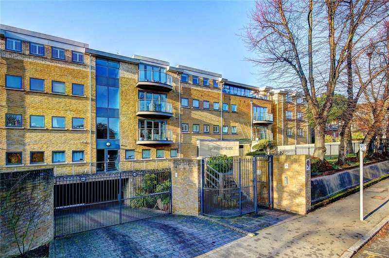 2 Bedrooms Flat for sale in Lanherne House, 9 The Downs, Wimbledon, London, SW20