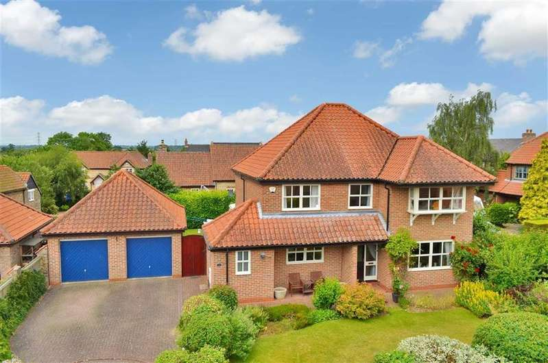 4 Bedrooms Detached House for sale in Somersby Court, North Carlton, Lincoln, Lincolnshire