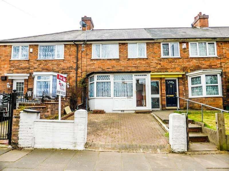 3 Bedrooms Terraced House for sale in Hobmoor Road,Yardley,Birmingham,West Midlands