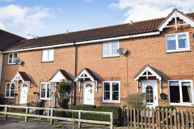 2 Bedrooms Terraced House for sale in Poulton Close, Maldon, Essex