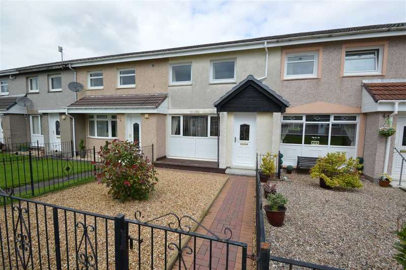 2 Bedrooms Terraced House for sale in Greenbank, Blantyre - mid terraced with extended kitchen